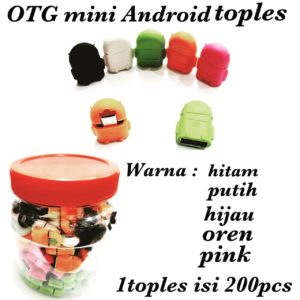 OTG mini Android toples isi 200pcs