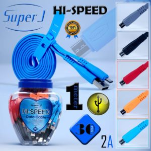 Kabel data super J Hi-Speed toples (isi 30pcs) fast charging