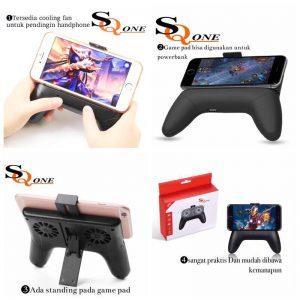 GAMEPAD SQ-0NE 4IN1(Gamepad+standing+coolpad...
