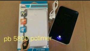 Power Bank advance 5.800mah slim polymer (garansi 1 tahun)