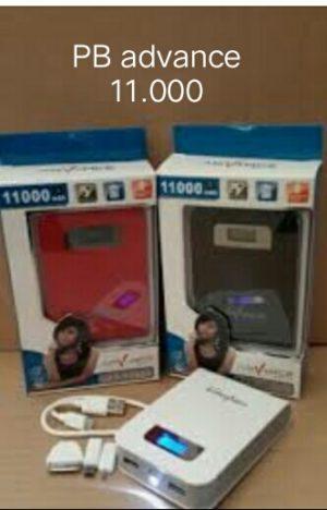 Power Bank advance 11.000mah LCD Digital(garansi 1 tahun)