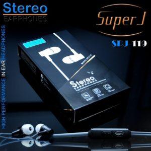 Headset Super J  universal SPJ-119