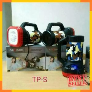 Speaker advance TP-S+lampu senter