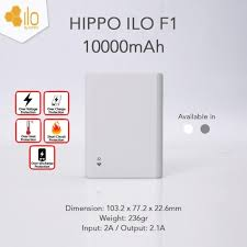 Pb hippo ilo 10.000mah(100% original)