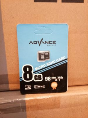 Micro SD Advance 8GB Class 10, Speed 98mb/s