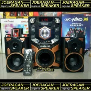 Speaker Bluetooth Niko Thunder ( bisa karaoke )