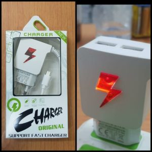 Charger LED FLASH