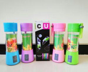 Blender Portable Q2 4 Mata Pisau (1Koli=24pcs)