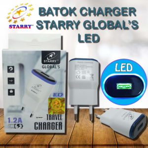 ADAPTOR STARRY GLOBAL'S 1,2A LED
