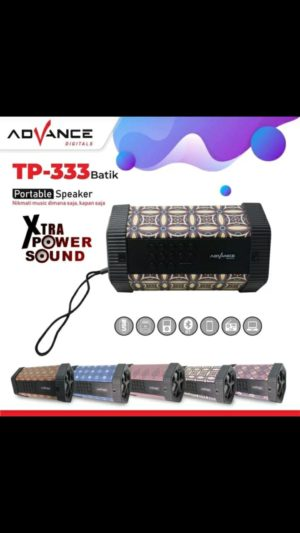 SPEAKER BLUETOOTH ADVANCE TP-333 BATIK