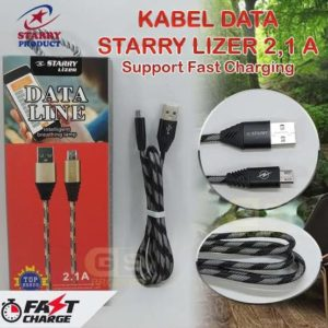 KABEL DATA STARRY LIZER 2,1A