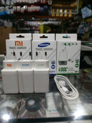 Charger VOOC Branded Packing Putih