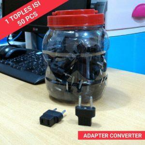 Adaptor Converter/Steker (1Toples=50Pcs)