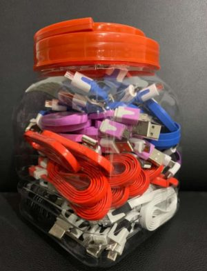Kabel Usb Murah (1 Toples=50 Pcs)