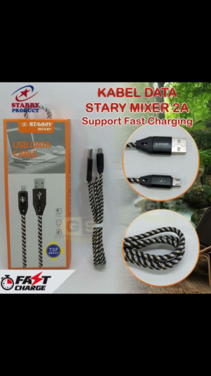 Kabel Data Starry Mixer 2A (Support Fast Charging⚡)