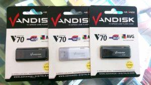 Flashdisk advance Vandisk V70 garansi...