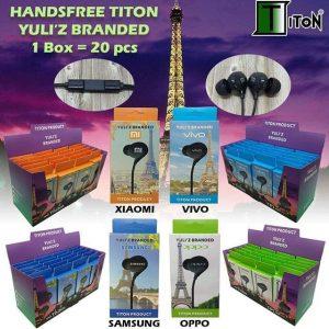 Headset TITON YULI'Z BRANDED