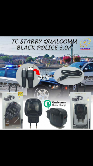 TC Starry Police 3A Qualcomm (Support Fast Charging⚡)