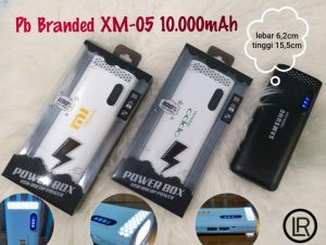 POWER BANK BRANDED XM-05 10.000MAH