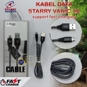 Kabel Data Starry Vanic (Support Fast Charging⚡)