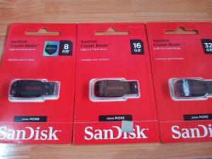FLASH DISK SAN DISK 32GB ORIGINAL