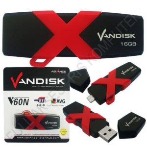 Flashdisk OTG Vandisk By Advance Original 8gb//16gb*