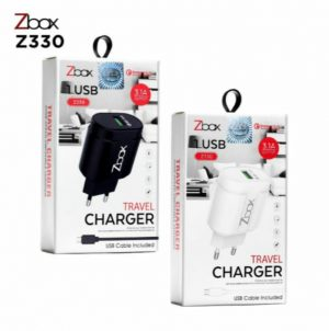 TRAVEL CHARGER ZBOX Z330 QUALCOMM 3.0