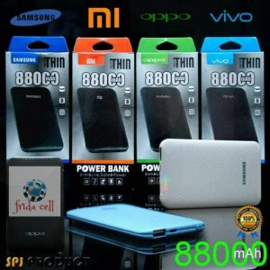 Powerbank Slim Branded 88.000mah