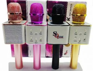 Mic + Speaker Bluetooth SQ-One Q7 Original (Postel Resmi)