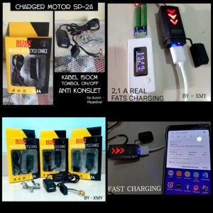 Charger Aki Motor Duzon 2A (Support...