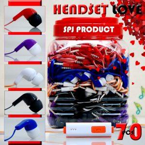 Headset Toples (Bisa Telfon &...