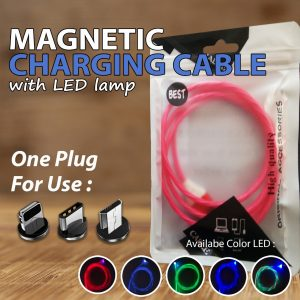 Kabel Data LED Light Type-c