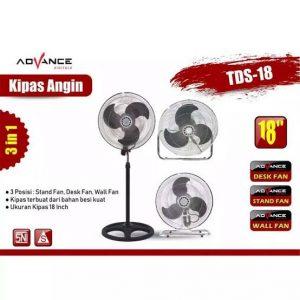 Kipas Advance TDS-18 3in1
