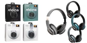 Headphone Bluetooth JBL P575 (Bahan Metal)