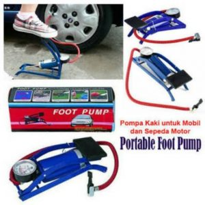 Pompa Kaki Injak Portable (Mudah...