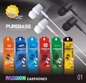 Headset Branded Purebass