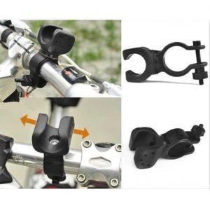 Holder Stang Sepeda (Bisa Dipasang Senter SWAT/Senter SWAT Mini)