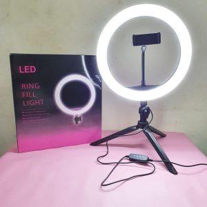 Ring Fill Light LED Ukuran 26 Cm.