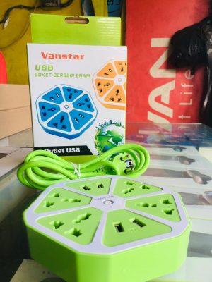 Soket + USB Vanstar Segienam