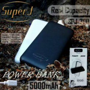 Powerbank Super J 5000mah SPJ-700 (1,5-2x cas HP)