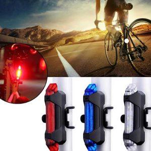 Lampu Belakang Sepeda LED (Bisa Dicas)