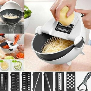Wet Basket Vegetable Cutter