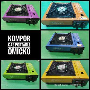 Kompor Gas Portable Omicko