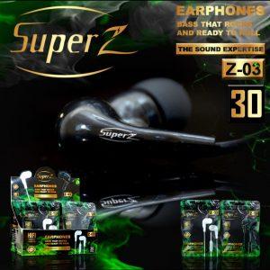 Headset Super Z Z-03 (1Box=30Pcs)