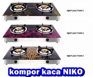 Kompor Gas Niko Reflection 2 Tungku...