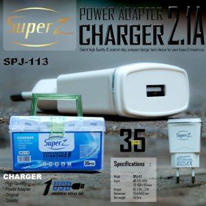Adaptor Super Z 2A SPJ-113 (1Toples=35pcs)