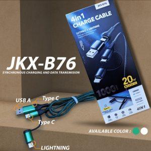 Kabel Data JKX-B76 USB & USB-C...