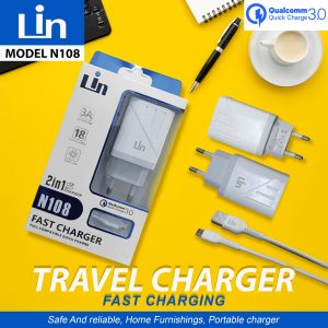 Charger Lin N108 3A Qualcomm