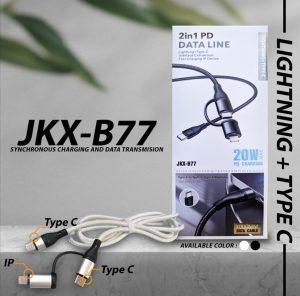 Kabel Data JKX-B77 USB-C To Type-C...