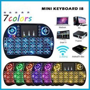Keyboard Mini I8 Touchpad Wireless...
